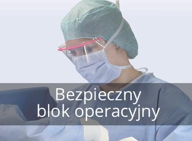 Bezpieczny blok operacyjny