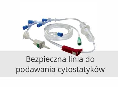 Bezpieczna Linia do podawania Cytostatyków